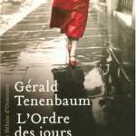 Gérald Tenenbaum - L'Ordre des jours